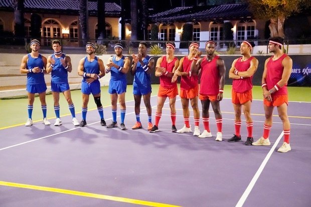 The Bachelorette strip dodgeball