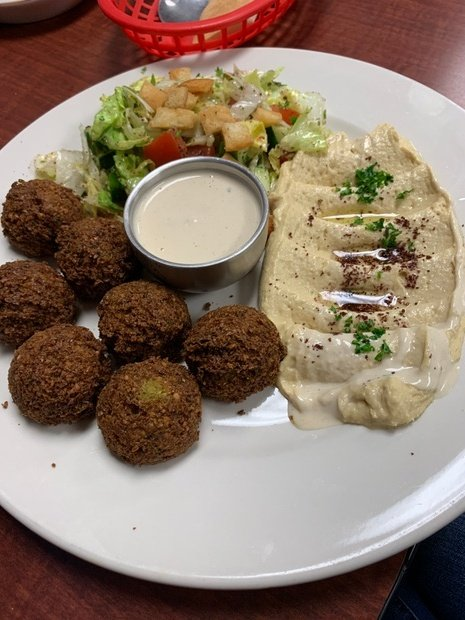 Jordanian Food falafel