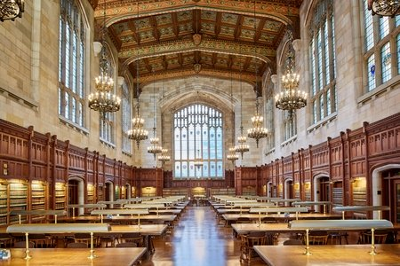 Library at University of Michigan Law School