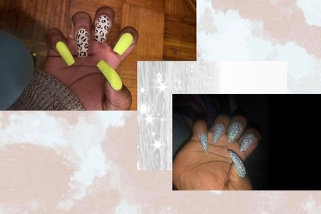 A photo of different style nails