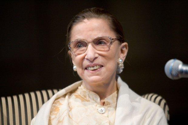 Ruth Bader Ginsburg Smiling