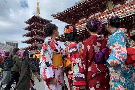 Amelia in Japan