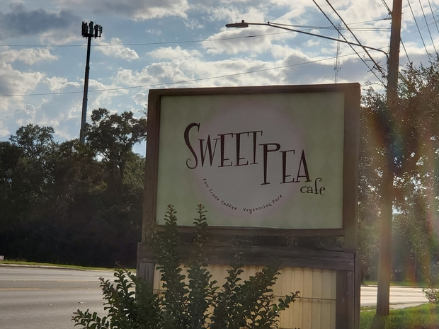 Sweet Pea Cafe exterior