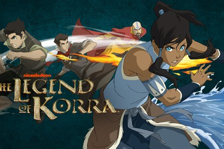 series poster for the legend of korra