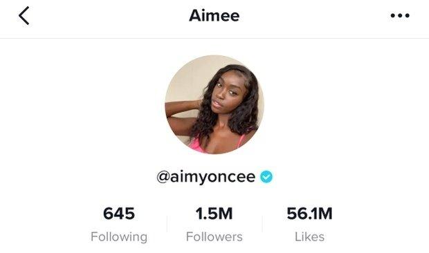 @aimyoncee verified check