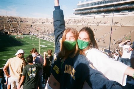 Notre Dame game day, football