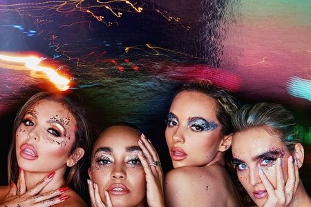 "Little Mix ""Confetti"" album cover"