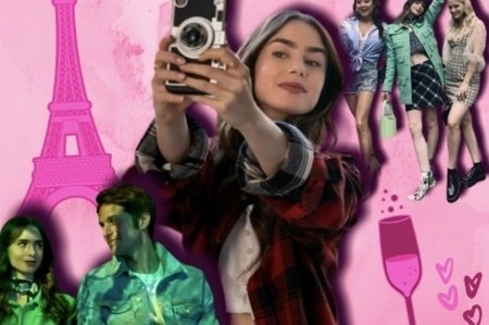 Emily in Paris Collage