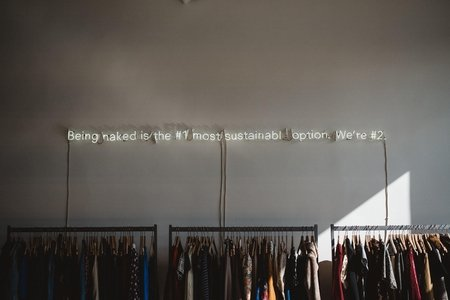 sustainable clothing rack