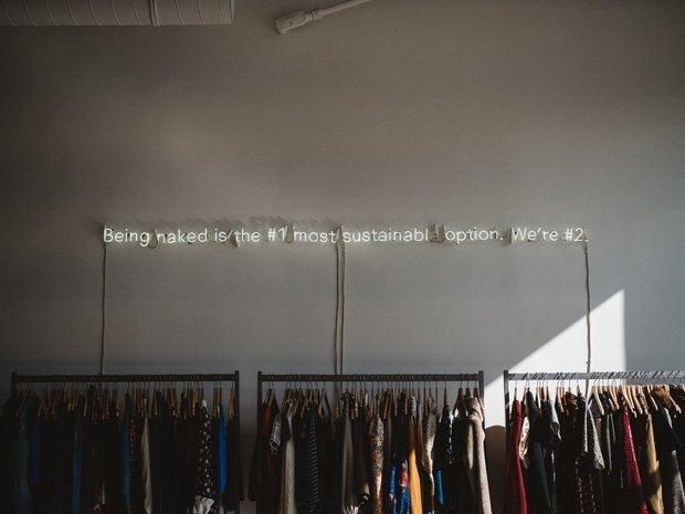 sustainable clothing rack
