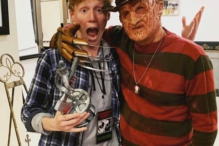 Thomas and horror man