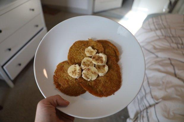 Original photo of pancake recipe I tried