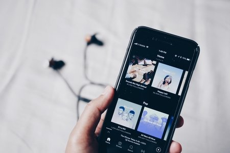 Spotify on iPhone