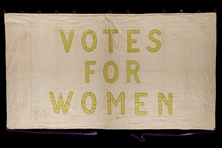 Women's suffrage flag