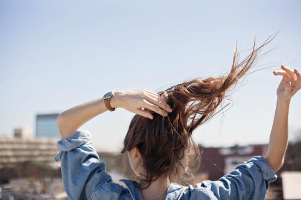 inspired city scape girl hair flip 6