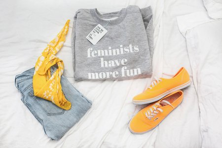 feminists have more fun flatlay 7