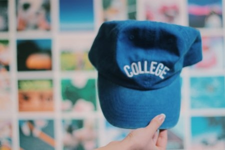 Anna Schultz-Blue College Hat
