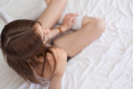 Kristen Bryant-Girl Lounging Relax Logo 1