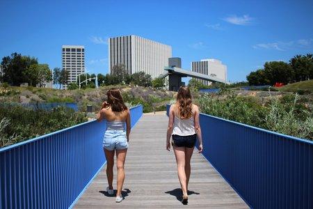 Kellyn Simpkin-Two Girls Walking