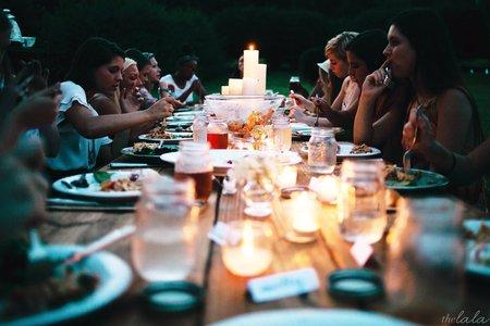 Girls Night Dinner Party