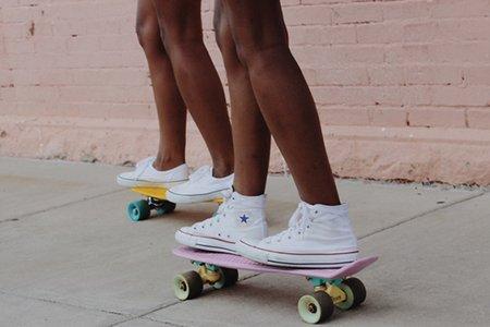 Anna Schultz-Converse Skateboards