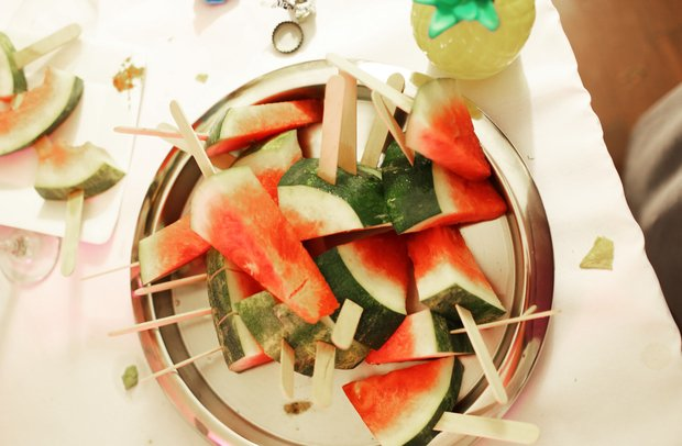 The Lalawatermelon Slices On Sticks