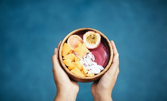Hawaii Acai Bowl Smoothie Food Yummy Fruit Colorful
