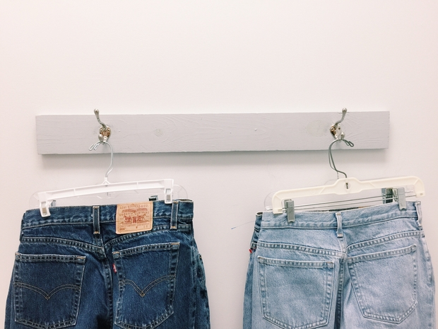Celina Timmerman-Mom Jeans Hanging