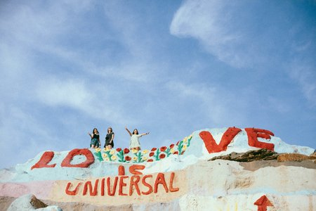 Molly Peach-Salvation Mountain