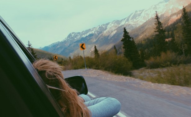 Anna Schultz-Looking Out Window Road Trip