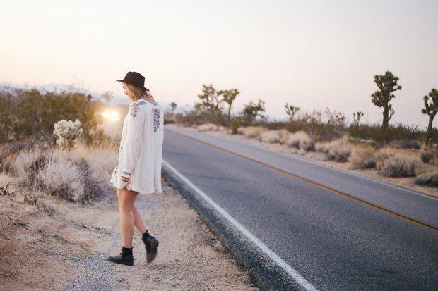 Molly Peach-Walking Through Desert