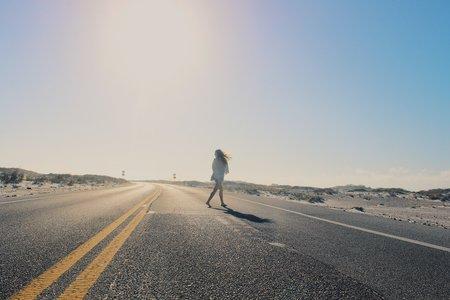 Anna Schultz-Girl On Road Wunderlust 1