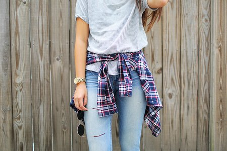 The Lalaplaid Shirt Jeans