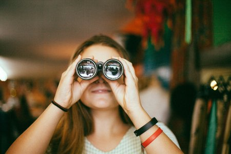 Molly Peach-Binoculars