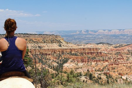 Maria Scheller-Girl Horse Riding Hiking Bryce National Park Utah Adventure Camping Active