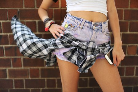 The Lalajean Shorts Flannel