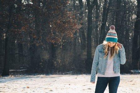 Celina Timmerman-Girl In Winter Hat