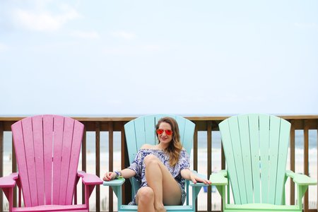 The Lalagirl On Adirondack Chairs Sunglasses