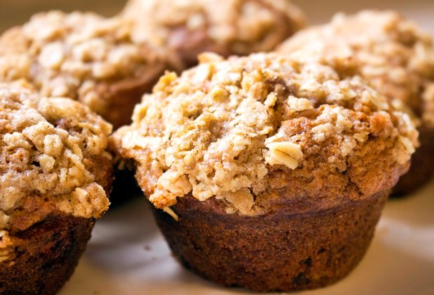 Spoon Csu-Chocolate Chip Banana Nut Muffins