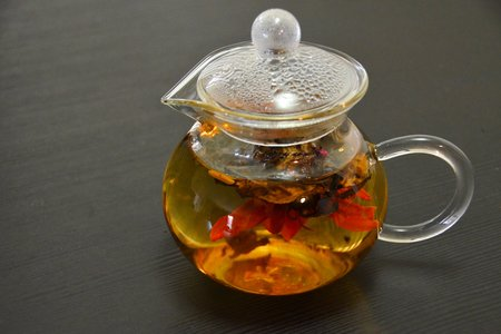 Tea Pot Glass