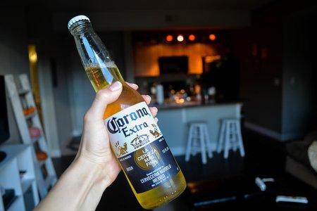 Corona Hand Bar Party