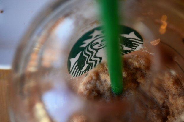 Starbucks Frapp Closeup