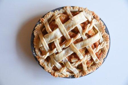 Apple Pie Whole Top Down