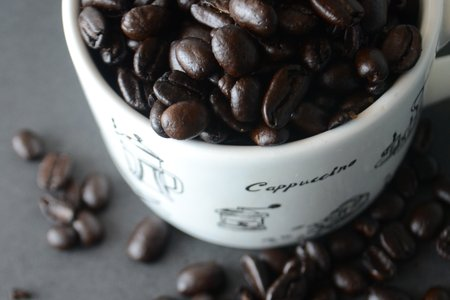 Beans In Mug