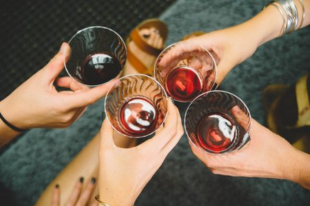 Alcohol Drinking Hands Party