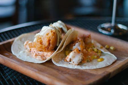Fusiontempura And Shrimp Tacos