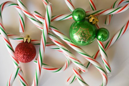 Candy Canes Ornaments Christmas