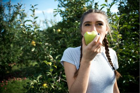 Apple Orchard Girl
