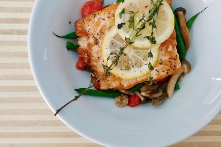 Salmon Lemon Bowl