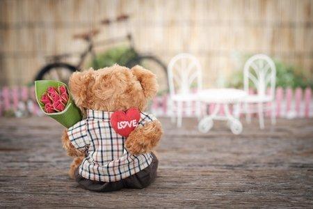stuffed animal valentine